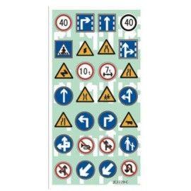 Stickers med vejskilte