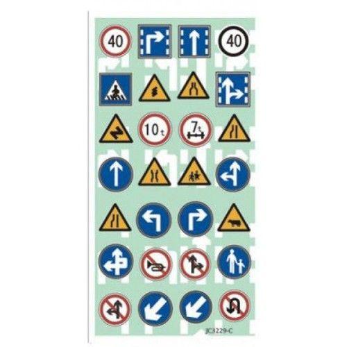 Vej skilte stickers