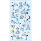 Barnedåb stickers Babyboy II