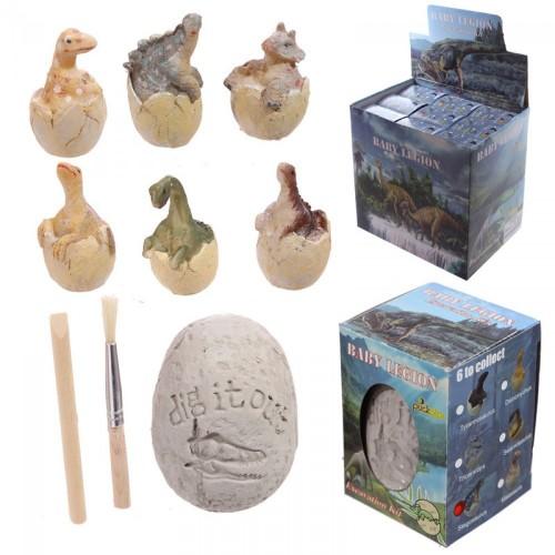 Dinosaur fossil æg