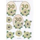 3D ark til 30 år fødselsdag