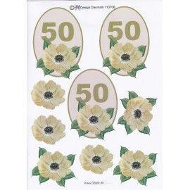 3D-ark-kortfremstilling-50 år-fødselsdag
