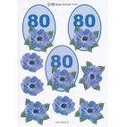 3D ark til 80 år fødselsdag