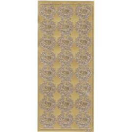 Stickers-50-år-guld