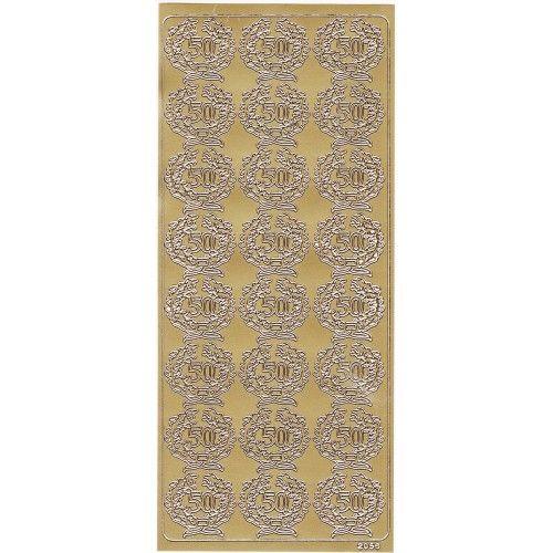 Stickers med 50 år guld
