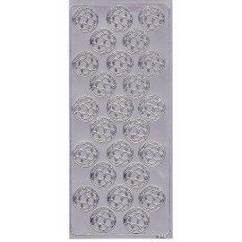 Stickers-med-fodbolde-i-sølv