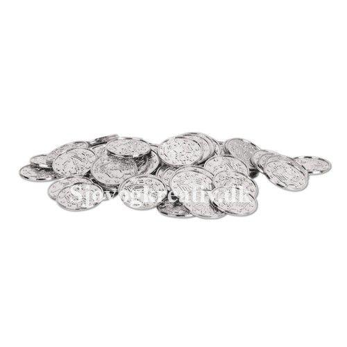 Sølvmønter 1 stk