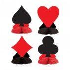 Casino bordpynt 4 pak