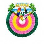 Hawaii dekoration rund