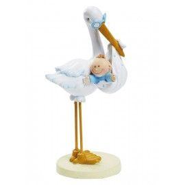 Barnedåbspynt-stork-med-baby-dreng
