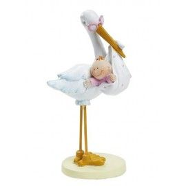 Barnedåbspynt-stork-med-baby-pige
