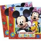 Mickey Mouse servietter, 20 stk