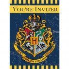 Harry Potter invitationer