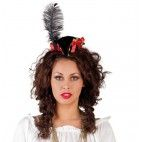Mini Pirat hat med hårbånd
