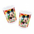 Mickey Mouse plastikkrus, 1 stk