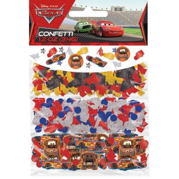 Cars konfetti