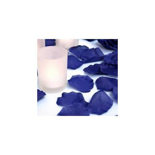 Blå rosenblade, 150 stk