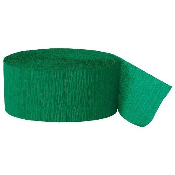 Crepepapir ruller, grøn