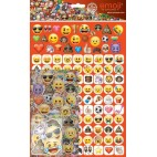 Smileys stickers mega ark