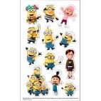 Minions 3 stickers, 6 stk.