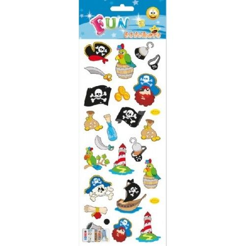 Stickers med pirater