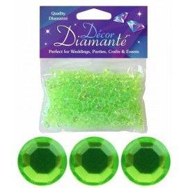 pynte_diamanter_lime_grøn
