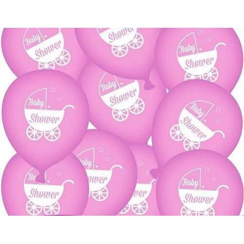 baby shower balloner pige, 1 stk