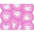 baby shower balloner pige, 10 stk