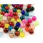 Perler runde krakeleret 8 mm