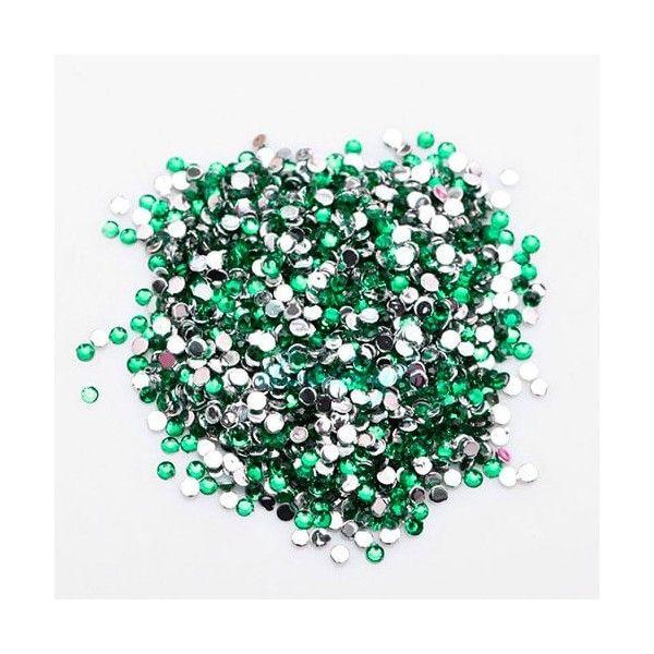 Rhinsten 2mm grønne
