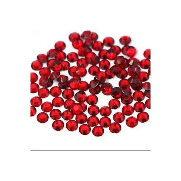 Rhinsten 4mm røde