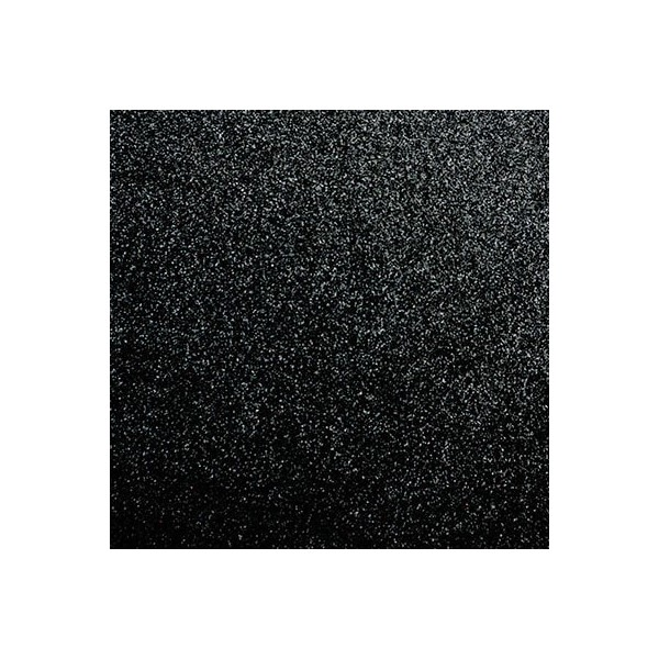 Glimmerpapir sort selvklæbende