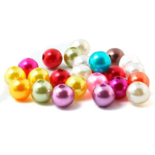 Perler runde 6mm imiteret