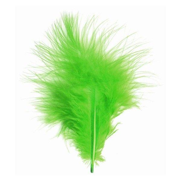 Fjer grønne marabou