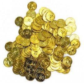 Pirat-guld-mønter