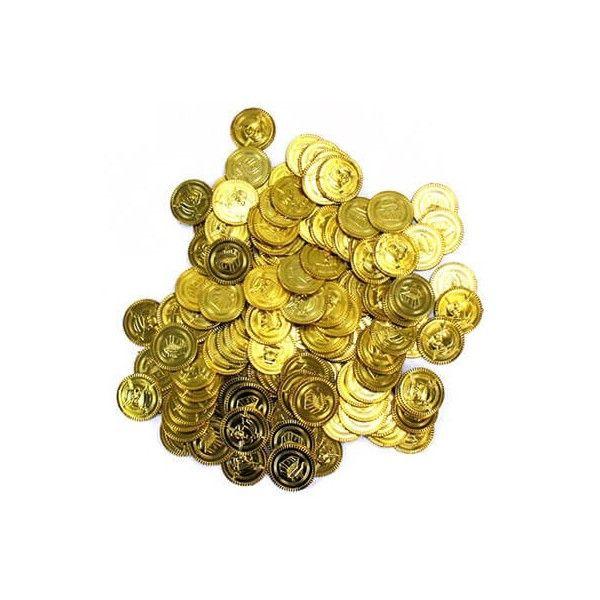 Pirat guldmønter, 1 stk