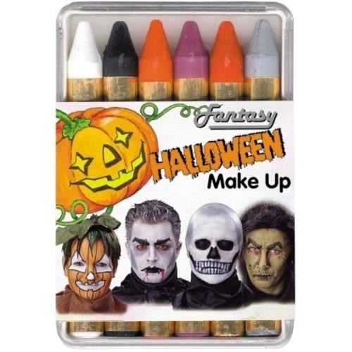 Halloween ansigtsmaling sæt