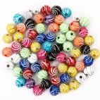 Perler 8mm spiral mønster 100 stk