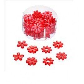 Bordpynt røde blomster