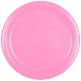 engangsservice-lyserøde-paptallerkner