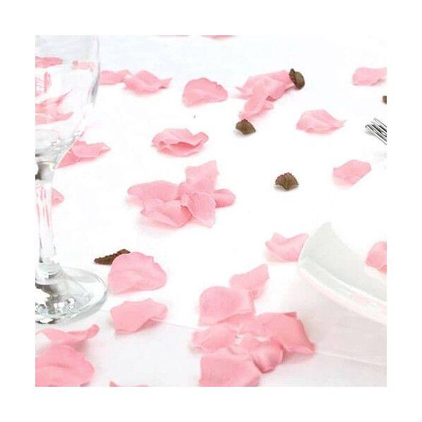 Rosenblade lyserøde