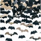 Konfetti med flagermus - Halloween pynt