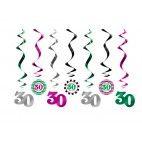 30 års fødselsdag loft pynt