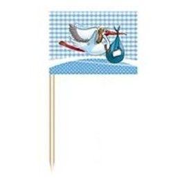 barnedåbspynt-små-blå-flag
