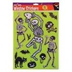 Halloween stickers, skelet