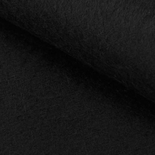 Hobbyfilt sort 1mm selvklæbende