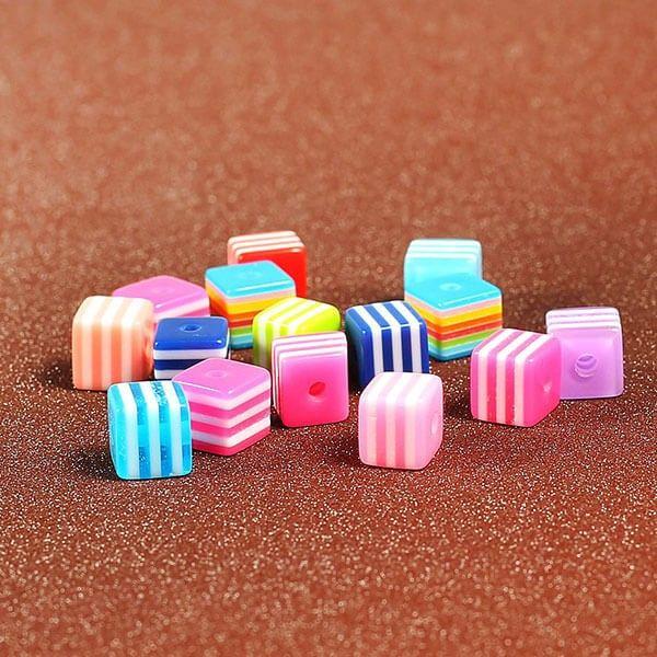firkantede perler