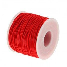 Elastiksnor rød