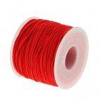 Elastiksnor rød 1,2mm 5 meter