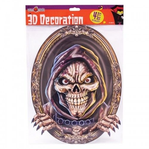 Halloween 3D dekorationer